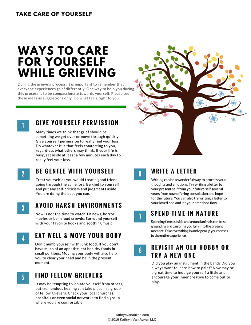 Self-Care Tips While Grieving