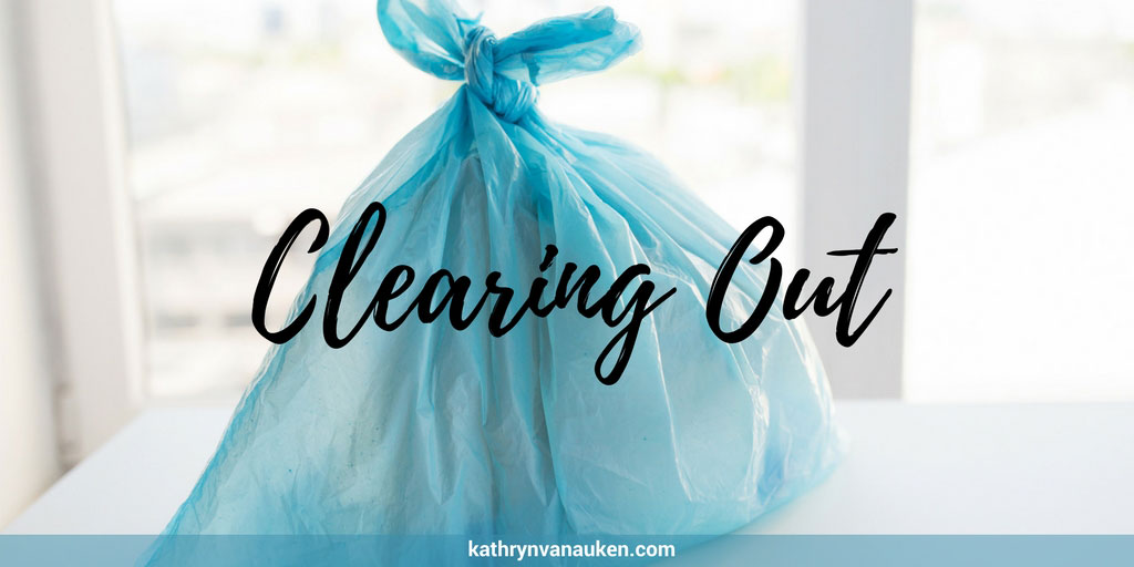 Clearing Out